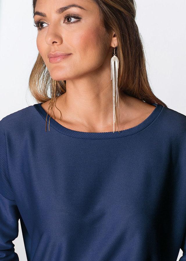 Šaty tmavomodrá Jednoduchý vzhľad z • 12.99 € • bonprix be666b8c5ee