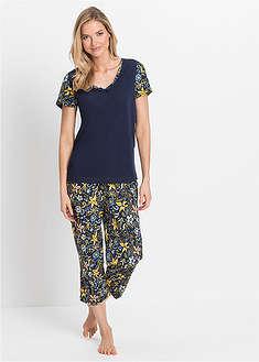 Piżama z krótkim rękawem i spodniami 3/4-bpc selection