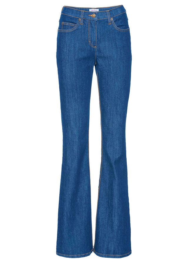 Strečové džínsy BOOTCUT modrá Strečové • 14.99 € • bonprix fbd499df56