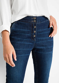 Blugi stretch denim închis bpc bonprix collection 4