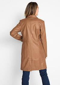 f5b8ba818dec9 Płaszcz ze sztucznej skóry • koniakowy • bonprix sklep. Ten produkt był  oglądany 154 razy w ciągu 24h. 23999zł