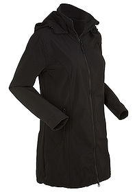 Canadiană softshell negru bpc bonprix collection 0