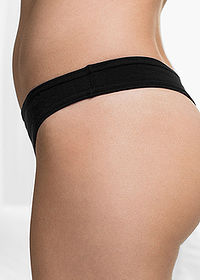 Tanga (10 db-os csomag) fekete bpc bonprix collection 3