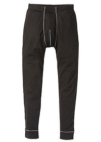 Pantaloni termo negru bpc bonprix collection 0