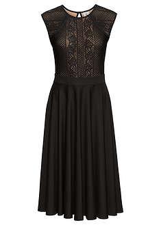 81f9bf31515d0 Sukienka z koronką czarny Kobieca • 149.99 zł • bonprix