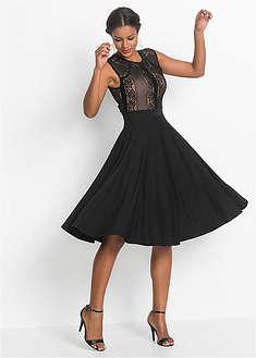 Šaty s čipkou BODYFLIRT boutique 34 15a2d328ff4