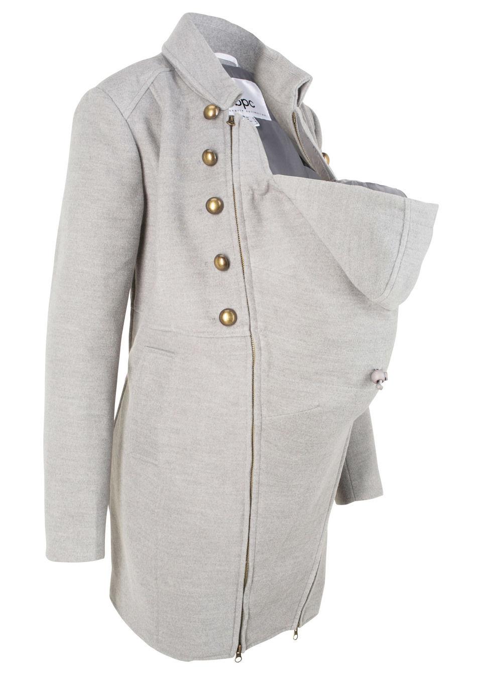 Palton maternitate cu inserție bebe bonprix