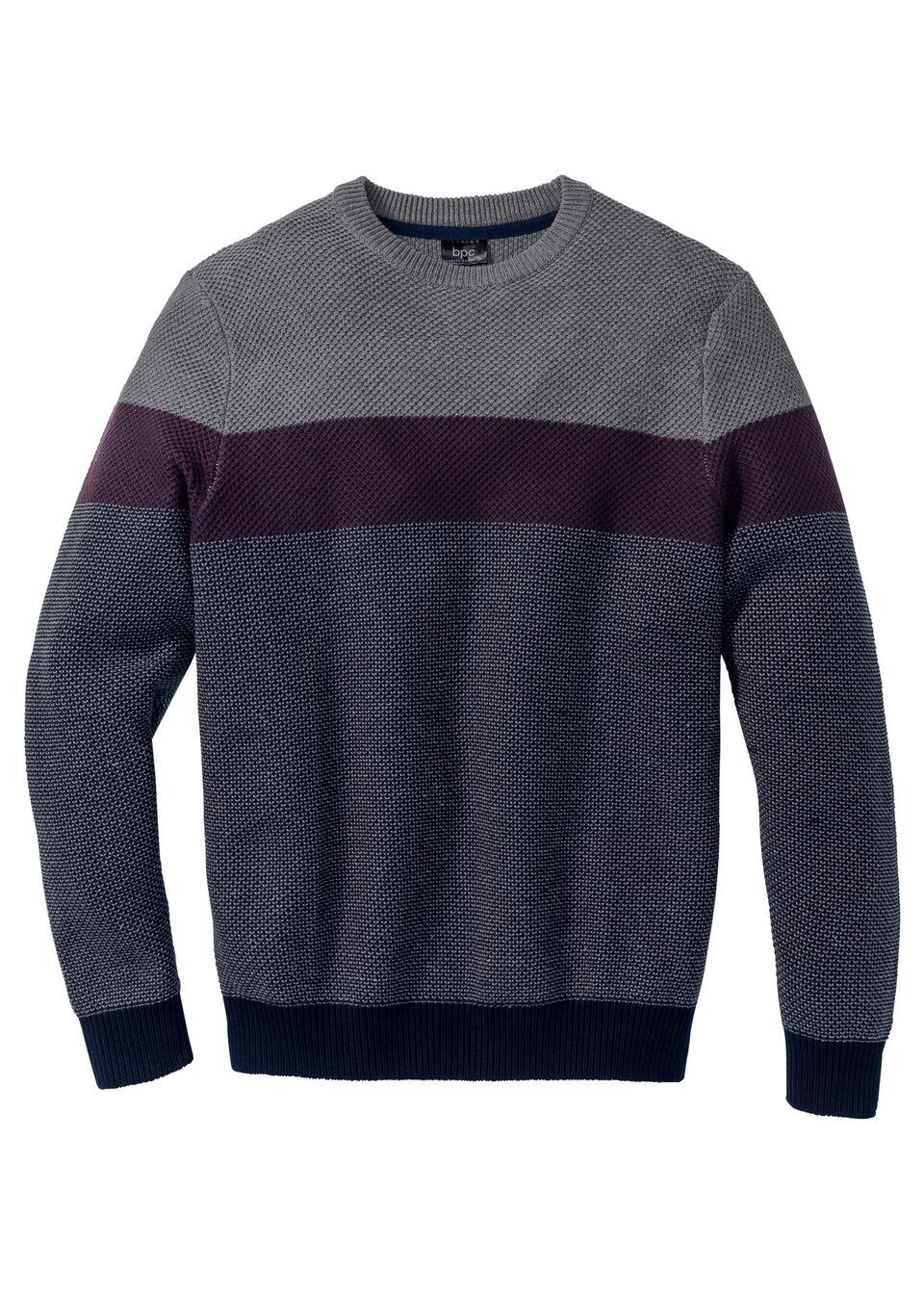 Пуловер Regular Fit с круглым вырезом