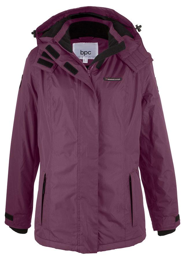 Funkciós kabát levehető kapucnival bodzaszín • 11999.0 Ft • bonprix 61124c592f