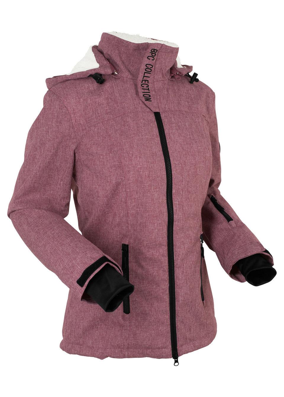 Куртка на плюшевой подкладке от bonprix