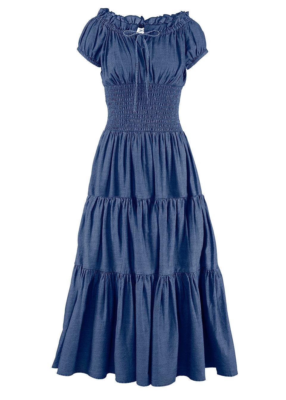 Купить Летнее платье, bonprix, темно-синий