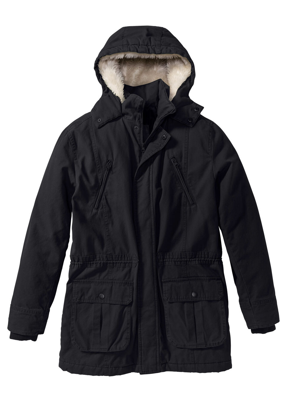 Куртка-парка на ватной подкладке
