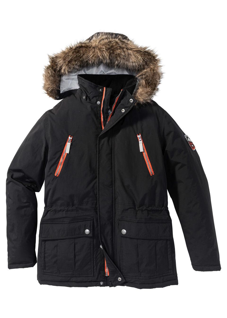 Куртка-парка Regular Fit на ватиновой подкладке