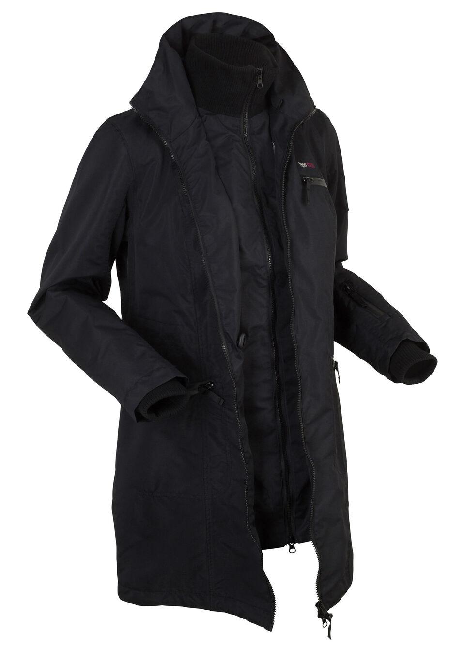 Функциональная куртка дизайна 2 в 1 с капюшоном