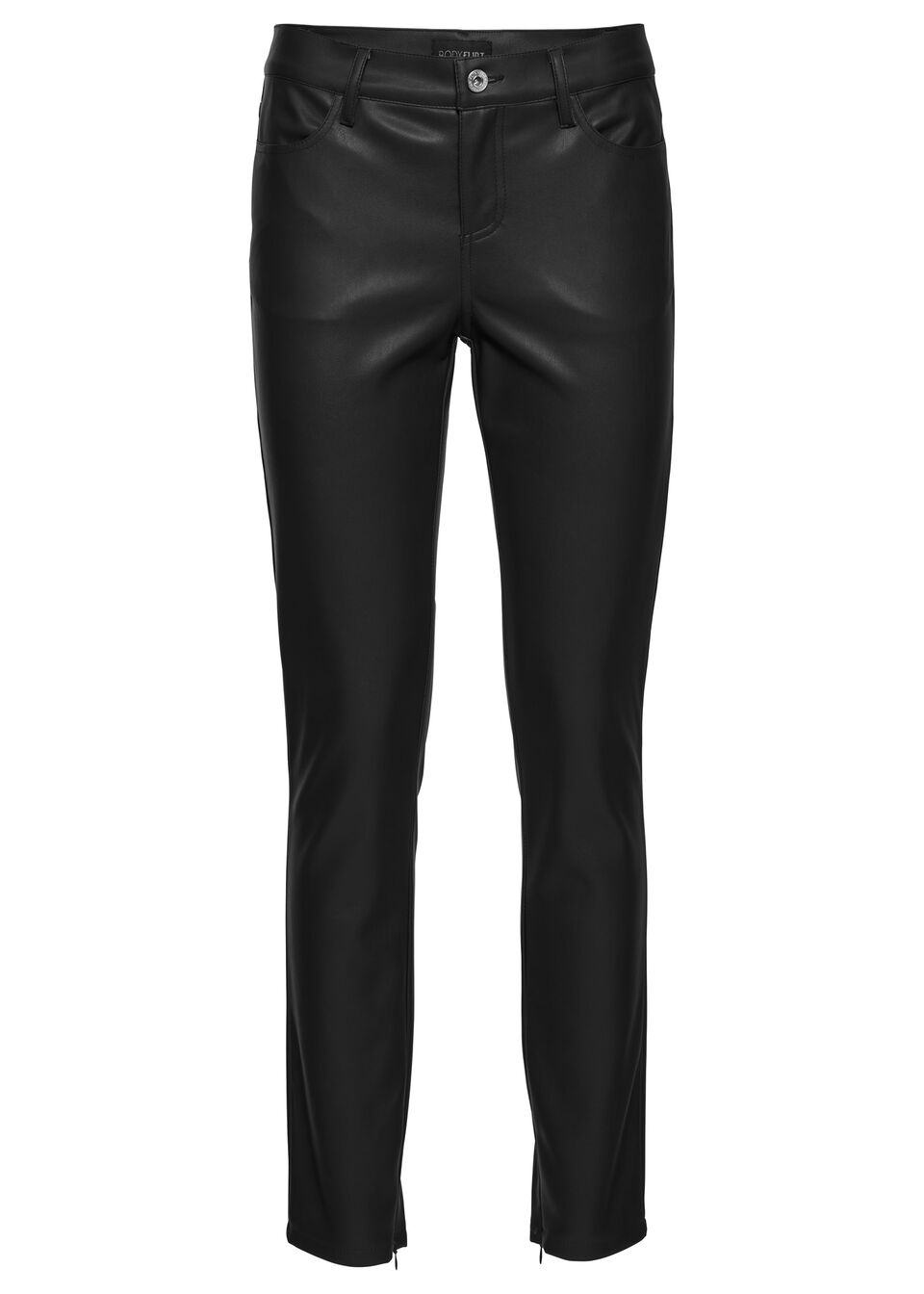Pantaloni mulaţi din imitaţie de piele bonprix de la BODYFLIRT