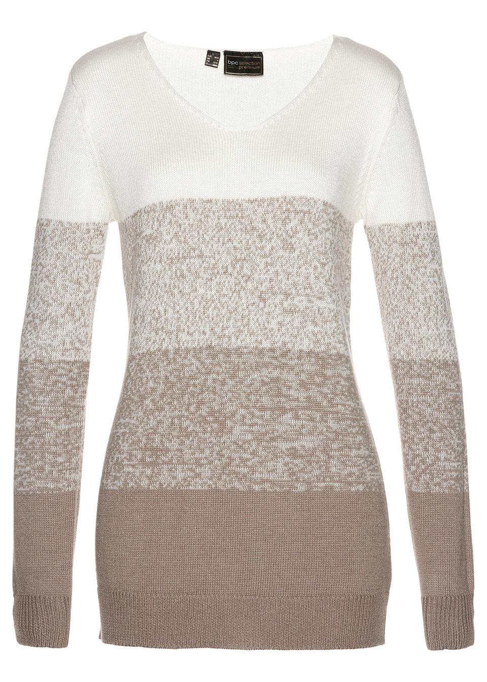 Пуловер с кашемиром