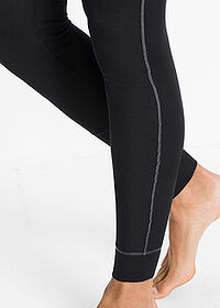 Pantaloni termo negru bpc bonprix collection 4