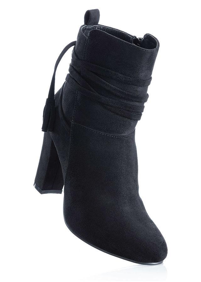 Členkové čižmy čierna Členkové čižmy s • 19.99 € • bonprix 1953d0f4e53