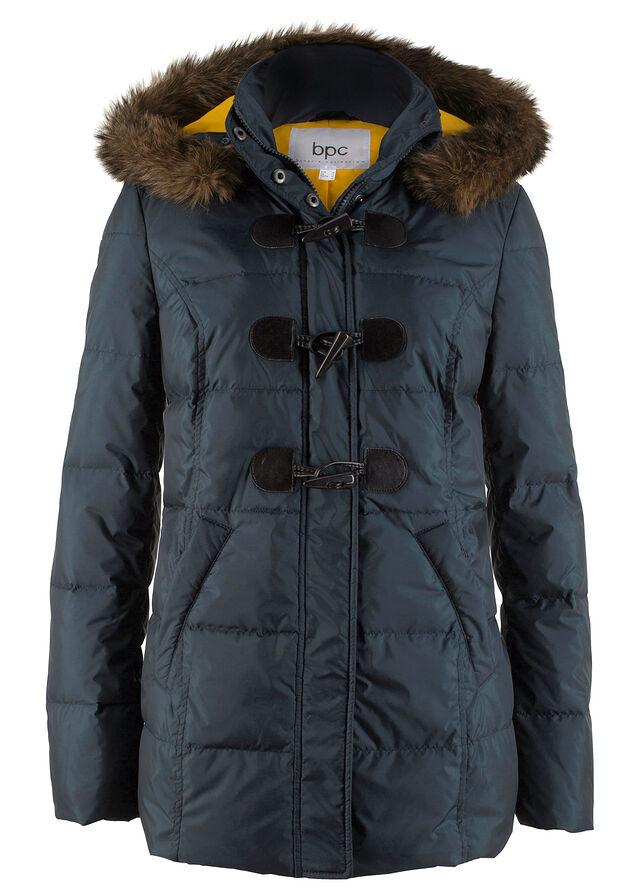 Стеганая куртка на легкой пуховой подкладке ночная синь • 1899.0 грн •  bonprix 5734259b92890