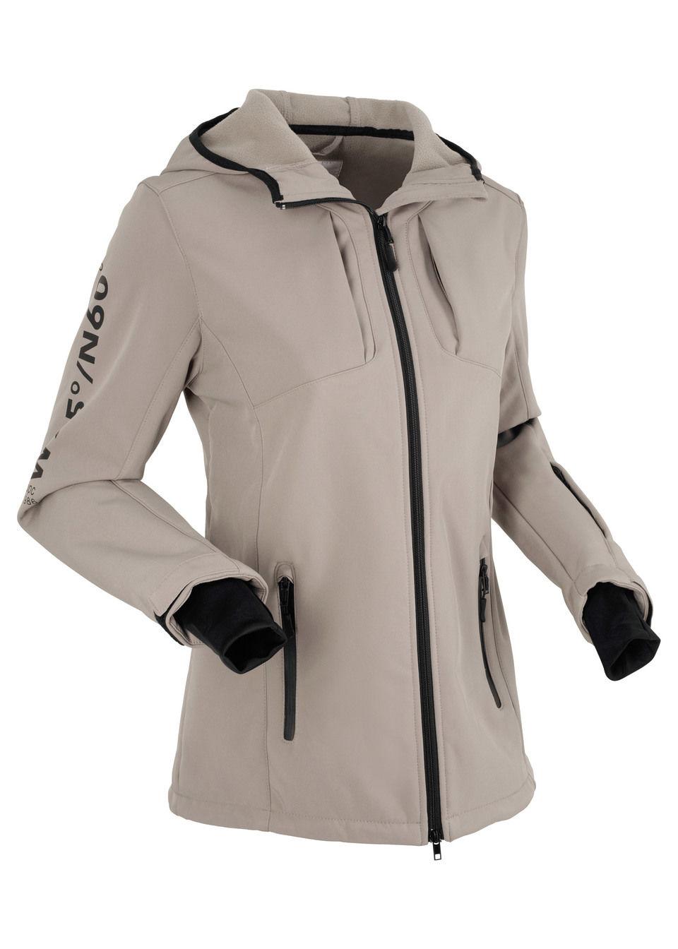 Купить Куртки и плащи, Куртка «софтшелл», bonprix, серо-коричневый