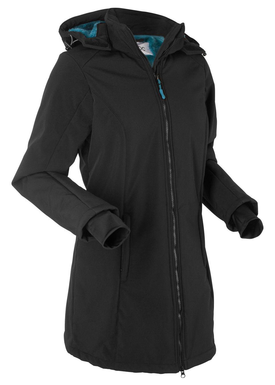 Куртка-софтшелл с плюшевой подкладкой