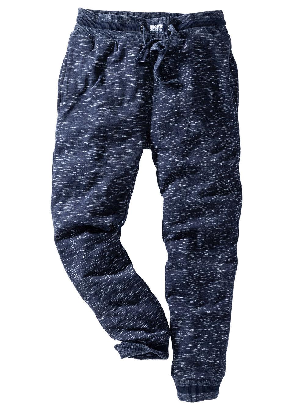 Pantaloni sport melanj bonprix