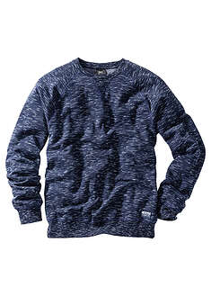 Bluza ciemnoniebieski melanż Z rękawami