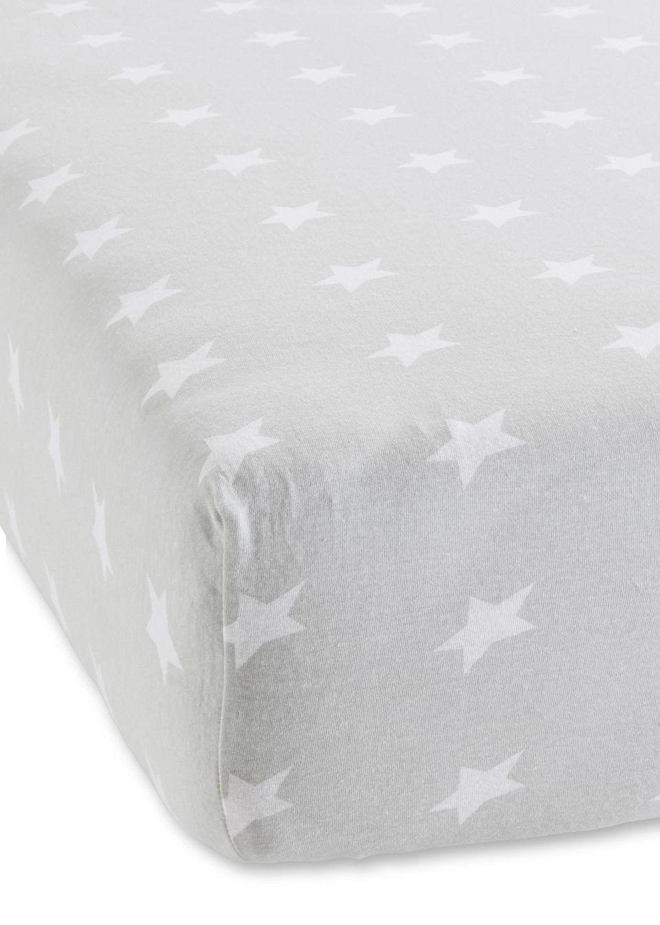 Простыня на резинке «Звезды»