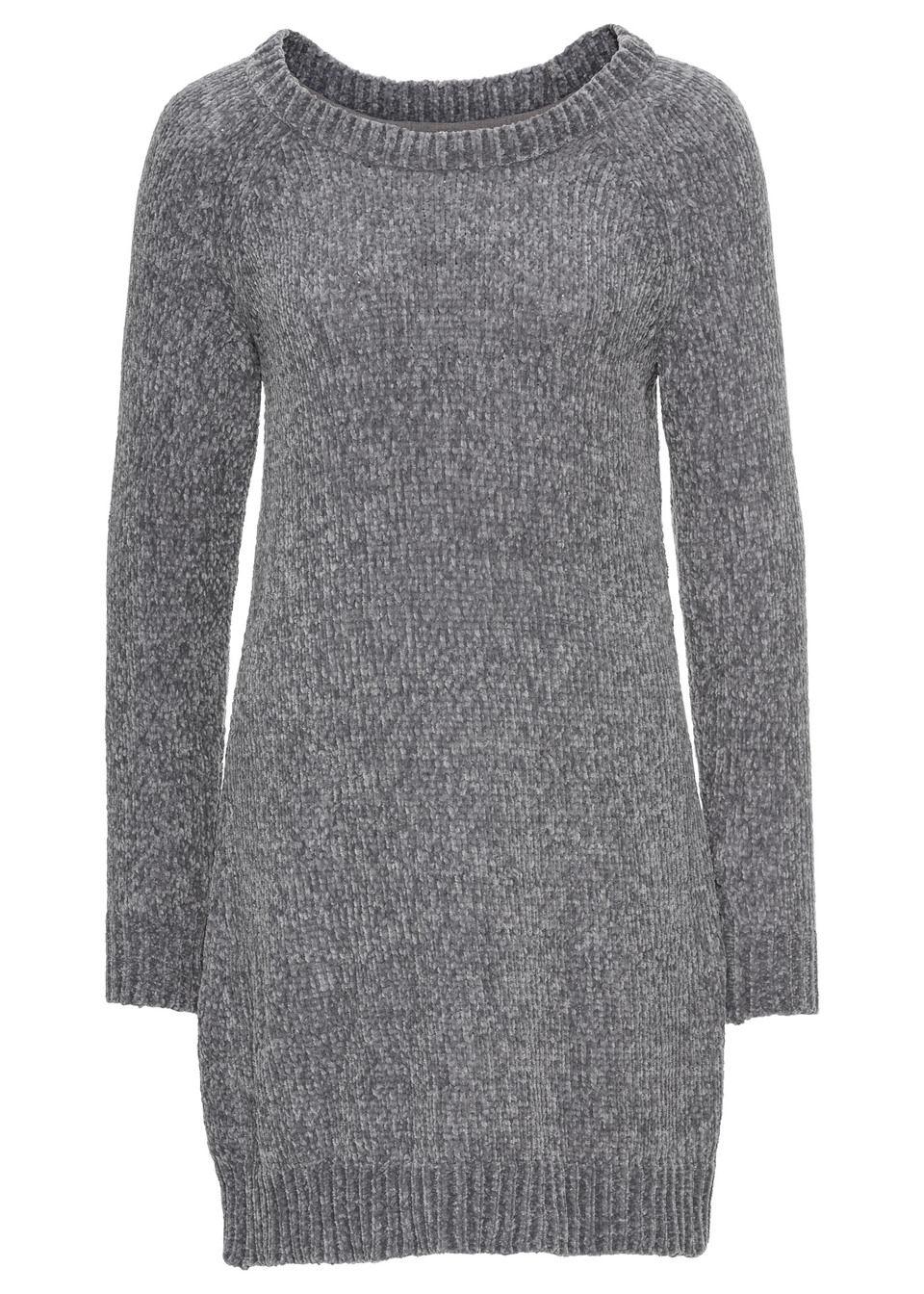 Rochie tricotată oversize bonprix