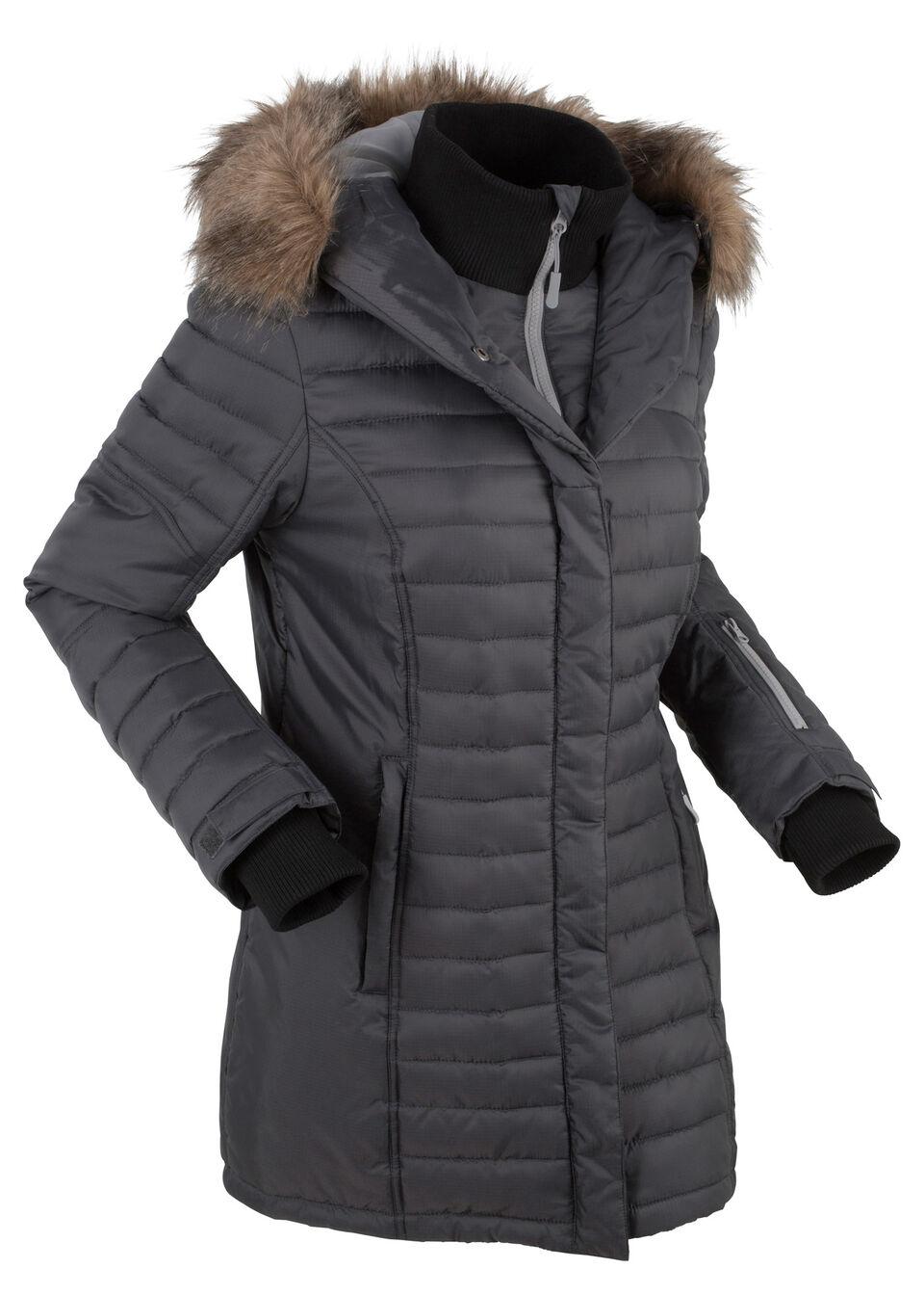 Длинная стеганая куртка от bonprix
