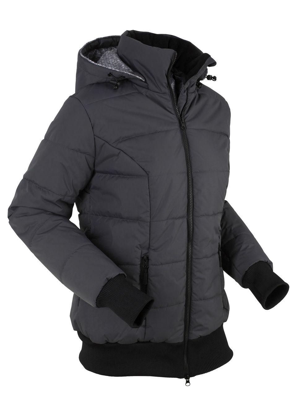 Стеганая куртка на подкладке с принтом от bonprix