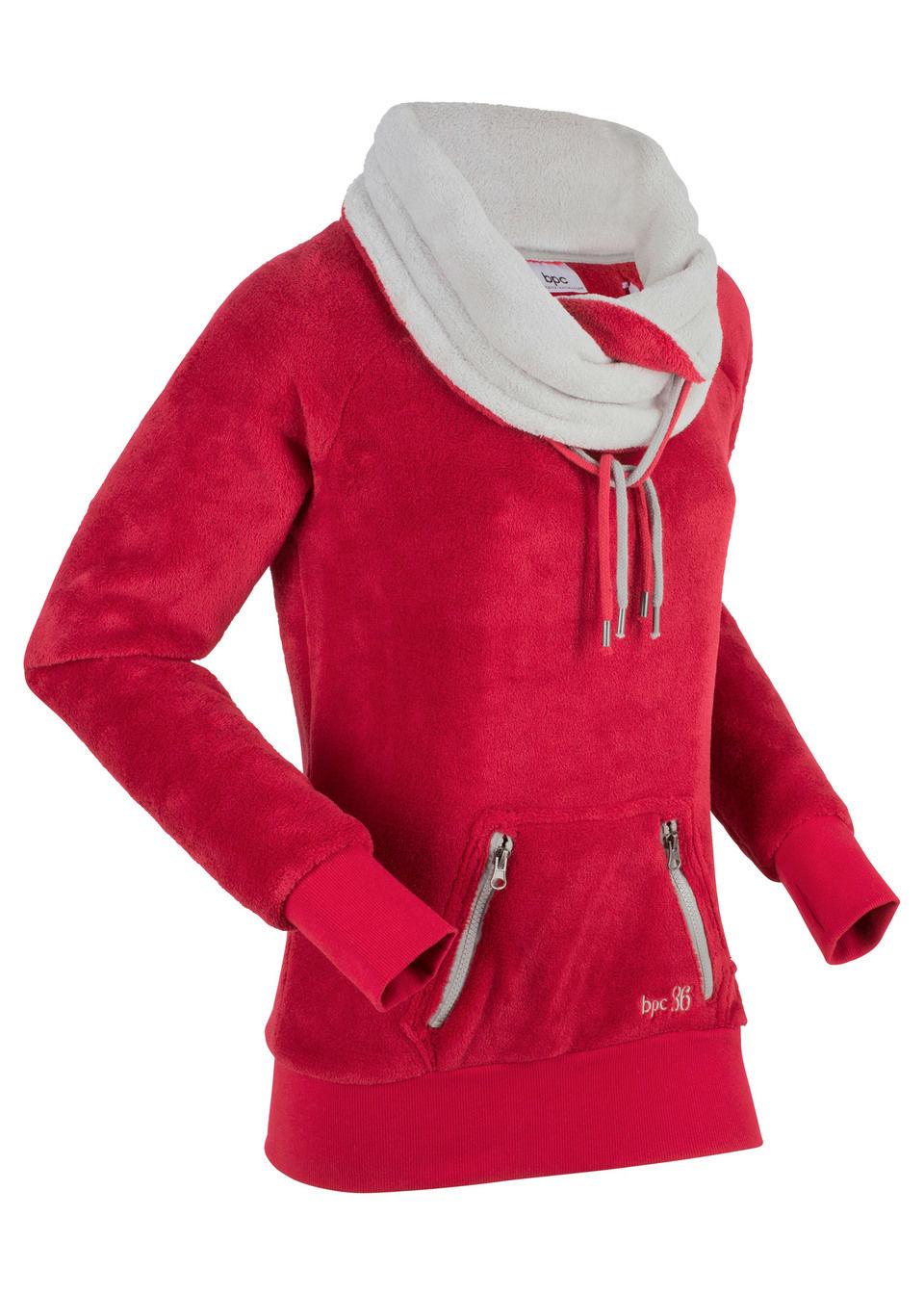 Куртка флисовая с длинным рукавом от bonprix