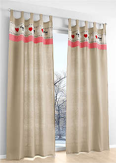 Draperie cu print (1buc/pac) bpc living bonprix collection 22
