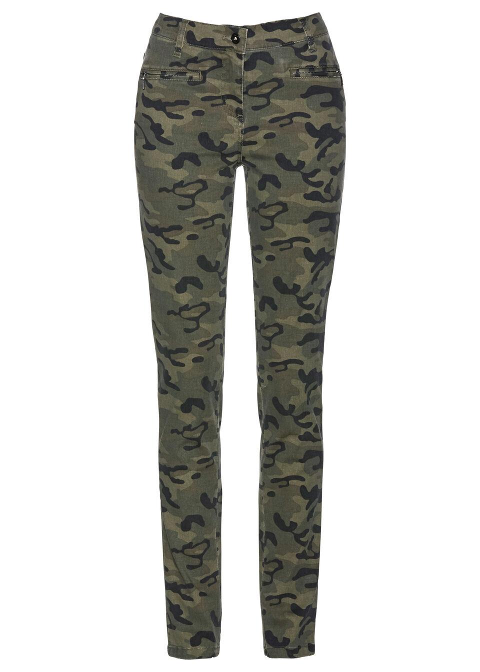 Pantaloni stretch bonprix
