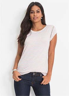 Pásikované tričko, krátky rukáv-BODYFLIRT