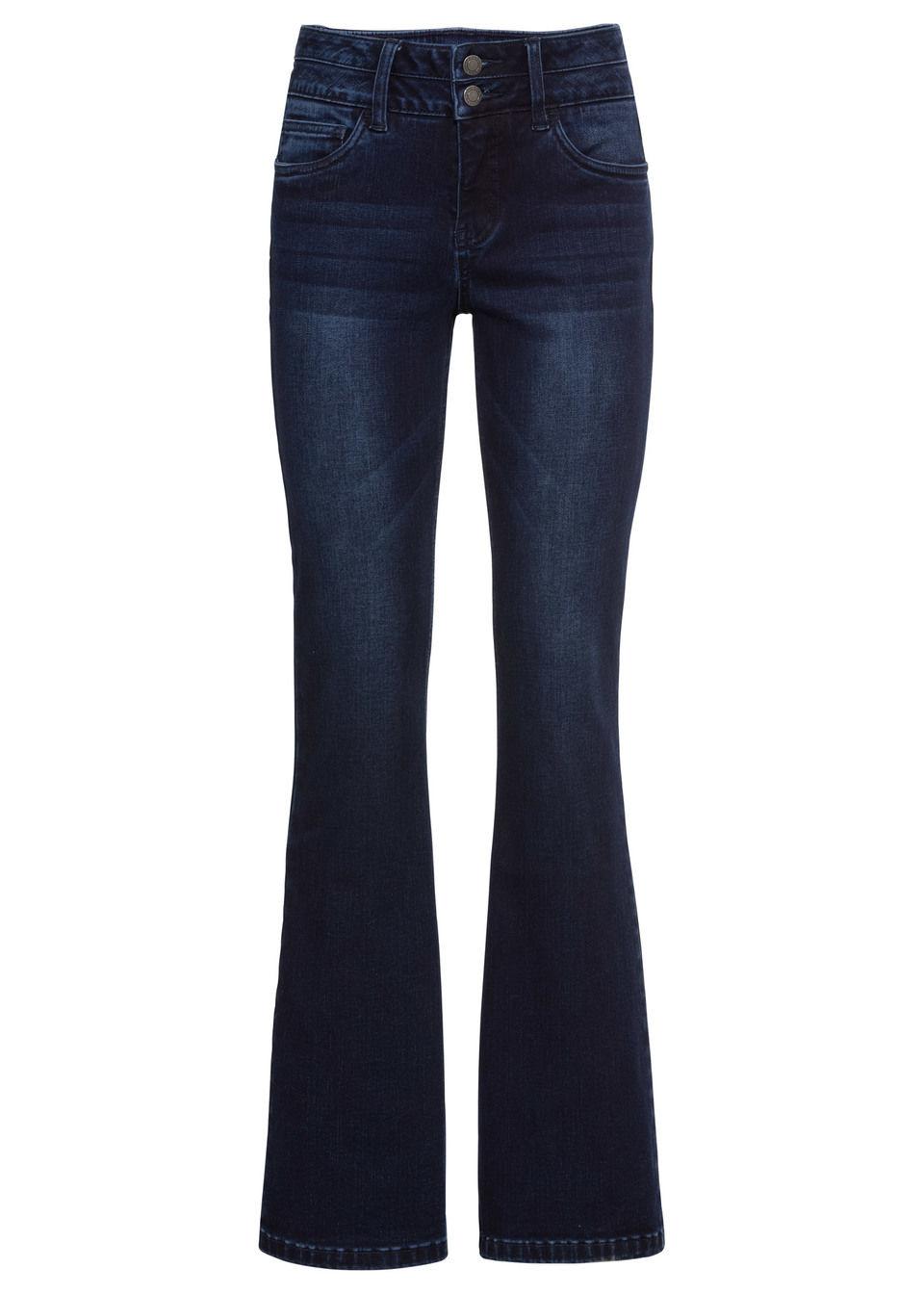 Стройнящие джинсы-стретч BOOTCUT
