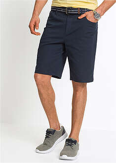 Sztreccs bermuda Classic Fit-bpc bonprix collection