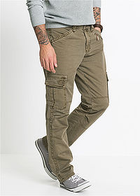 Pantaloni Cargo Loose Fit kaki RAINBOW 1