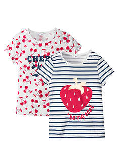 Tricou fete (2buc/pac)-bpc bonprix collection