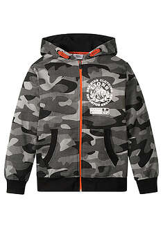 Jachetă sweat cu print camuflaj-bpc bonprix collection