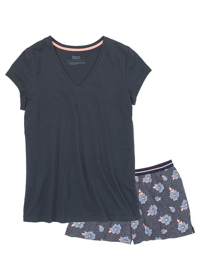 Rövidnadrágos pizsama kék Elasztikus • 3999.0 Ft • bonprix 363c56c99c