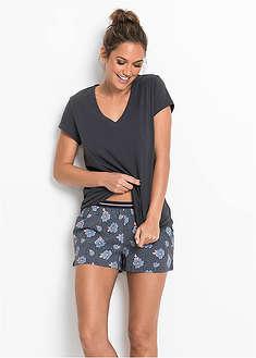 Piżama z krótkimi spodenkami-bpc bonprix collection
