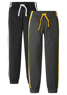 Pantaloni sport băieţi (2buc/pac)-bpc bonprix collection