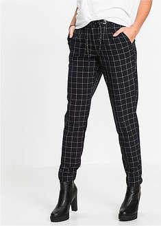Damskie spodnie • w kratkę • 12 szt • bonprix sklep