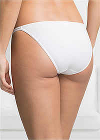 Chilot Tanga (6buc/pac) negru/alb/gri bpc bonprix collection 2