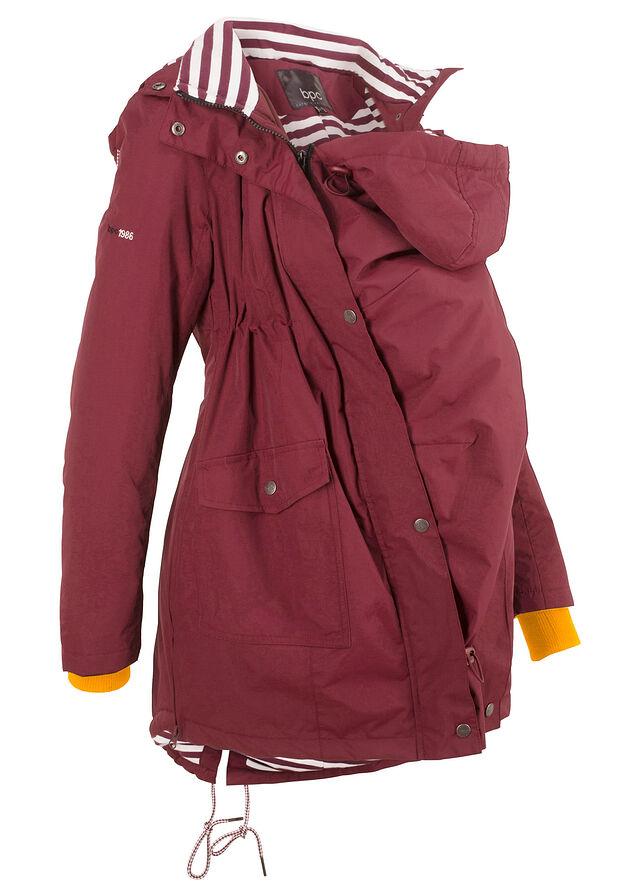 Materská bunda javorovo červená Pohodlná • 64.99 € • bonprix 619f9465eea