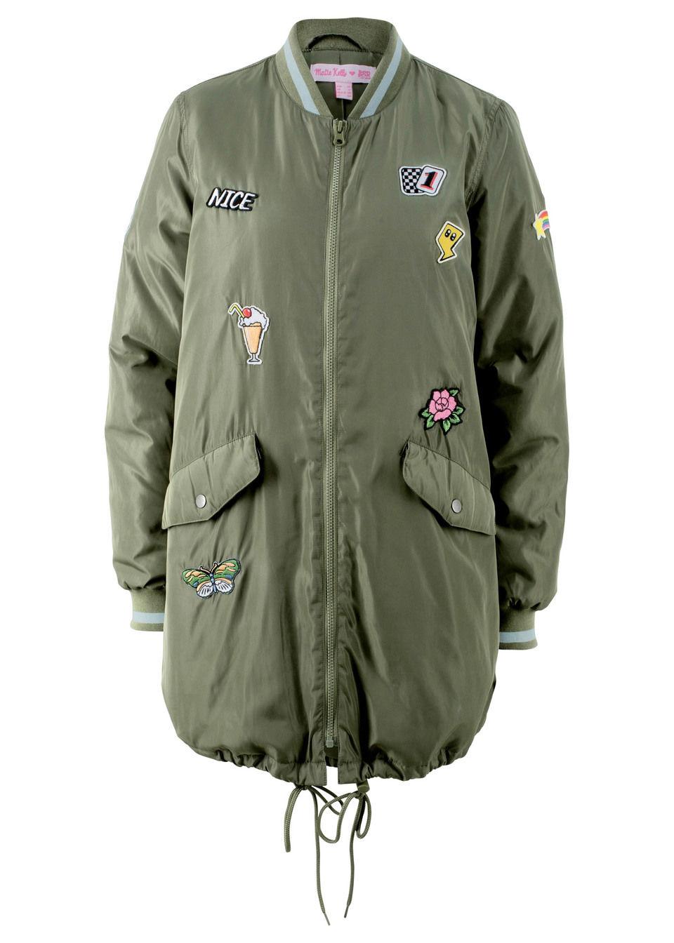Куртка удлиненного покроя – дизайн от Maite Kelly