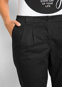 Pantaloni chino stretch negru bpc bonprix collection 4
