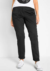 Pantaloni chino stretch negru bpc bonprix collection 1
