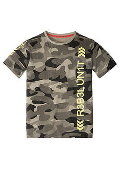 Tricou cu imprimeu camuflaj-bpc bonprix collection